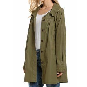 Waterproof Lightweight Hoodie Raincoat Jacket